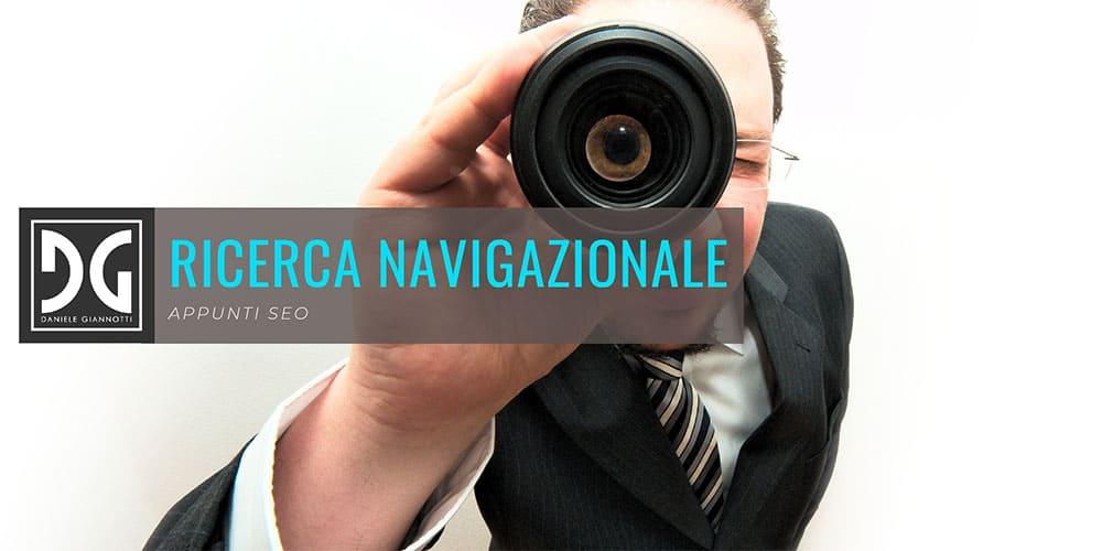 Intento di ricerca navigazionale, informativo o transazionale